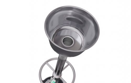 safety shower tester durable safety shower guard top view